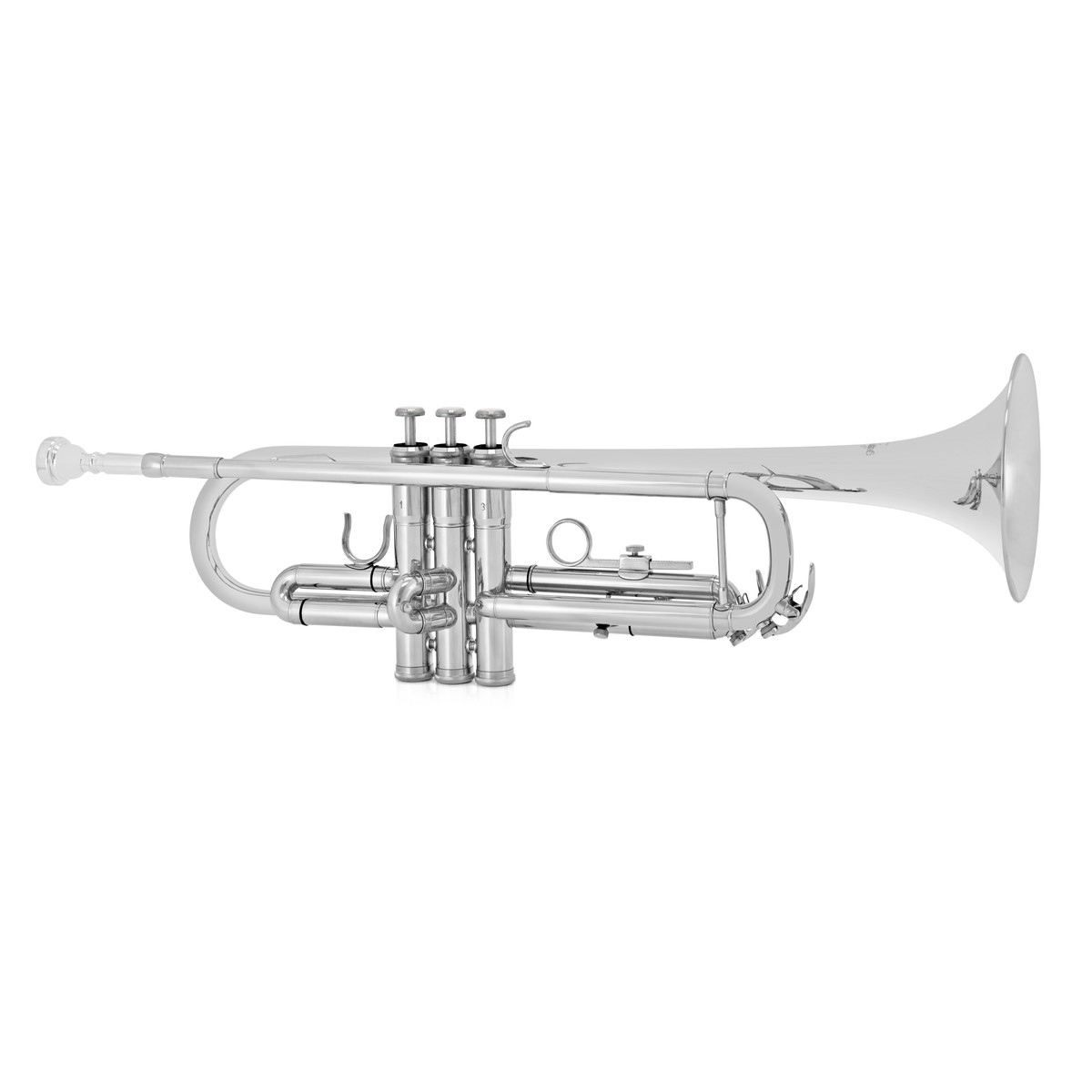 Student Trumpet By Gear4music Silver