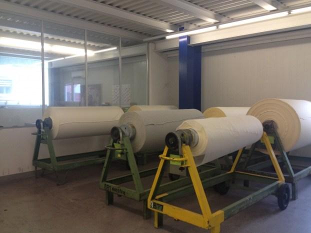 Fabric rolls/ Stoffrollen