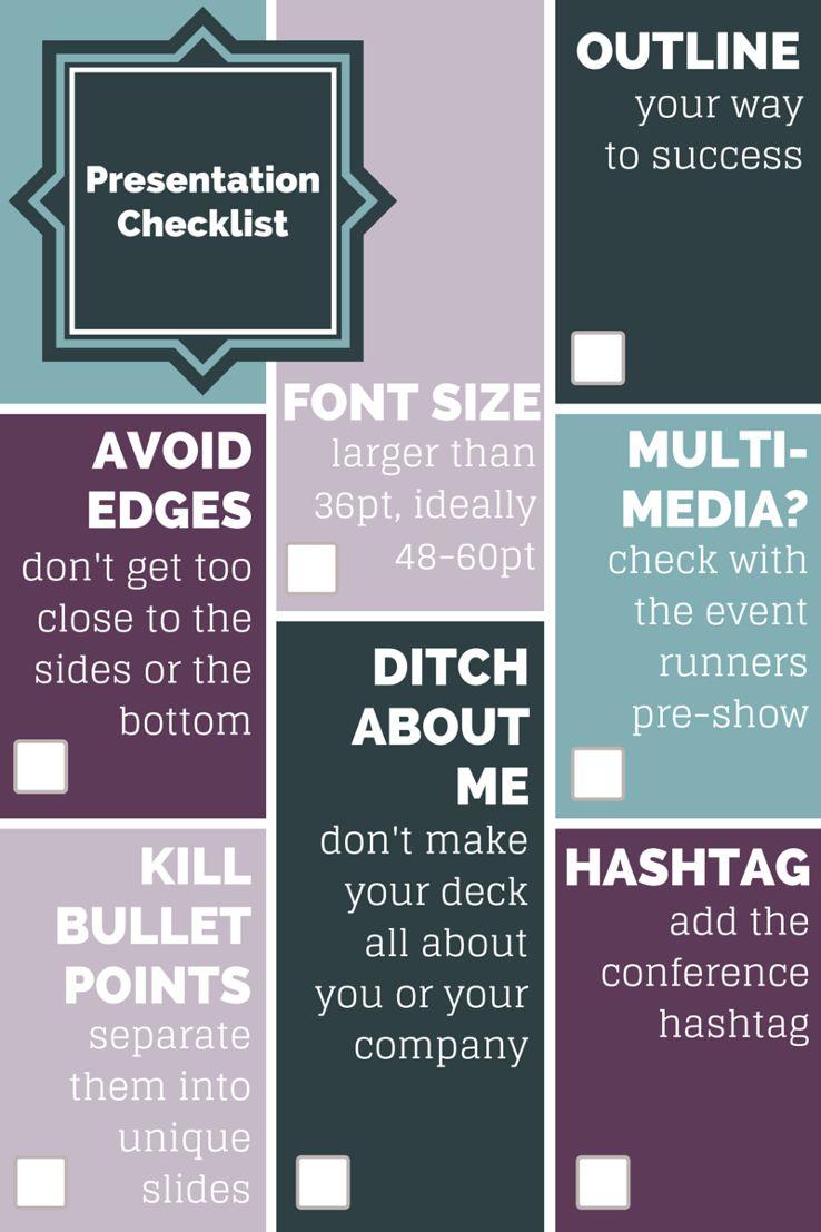 7 Dead Simple Ways to Improve Slide Decks Checklist