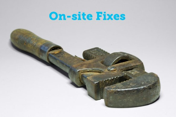 on-site seo fixes
