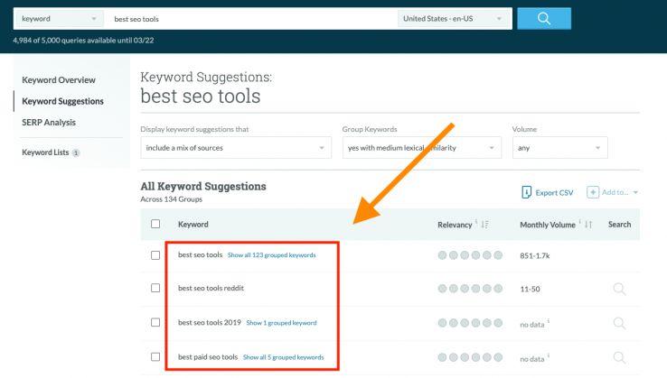 Related keywords Keyword Explorer