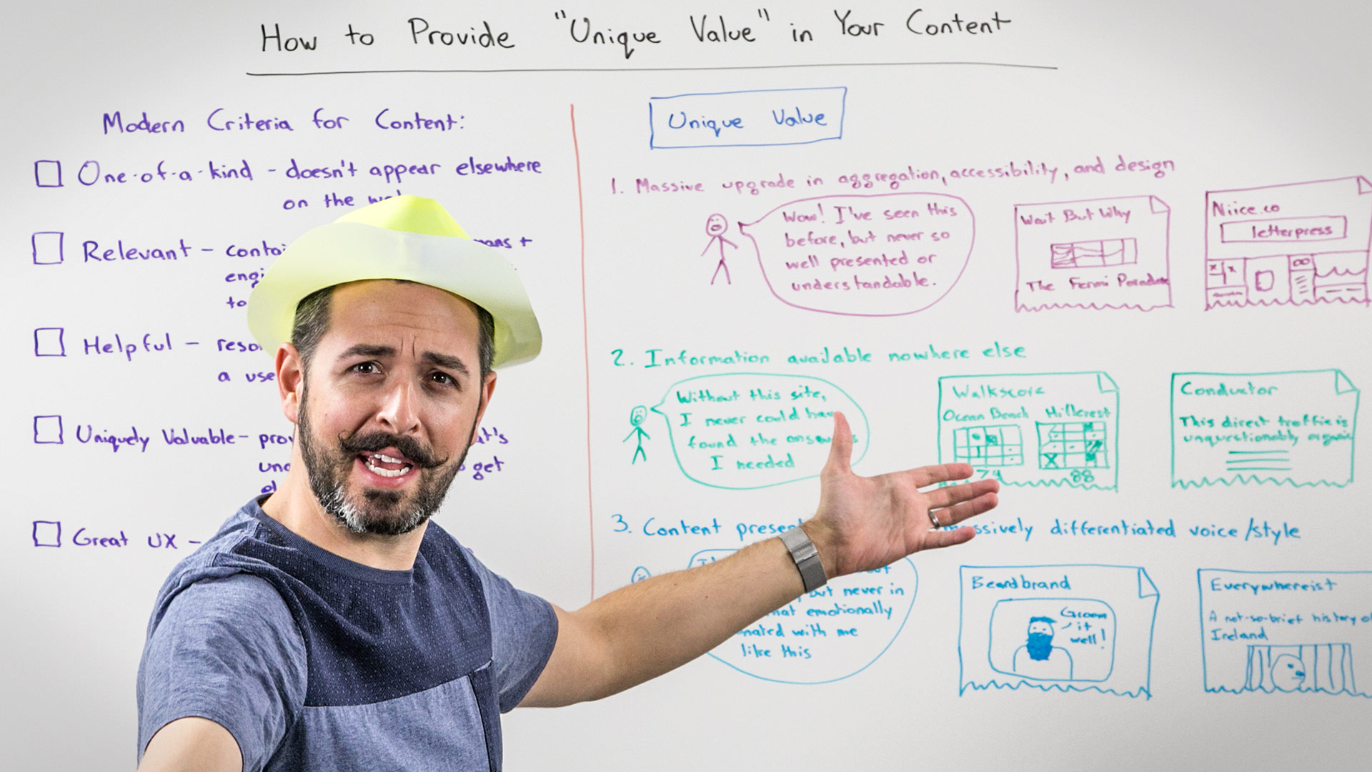 How To Provide Unique Value In Your Content
