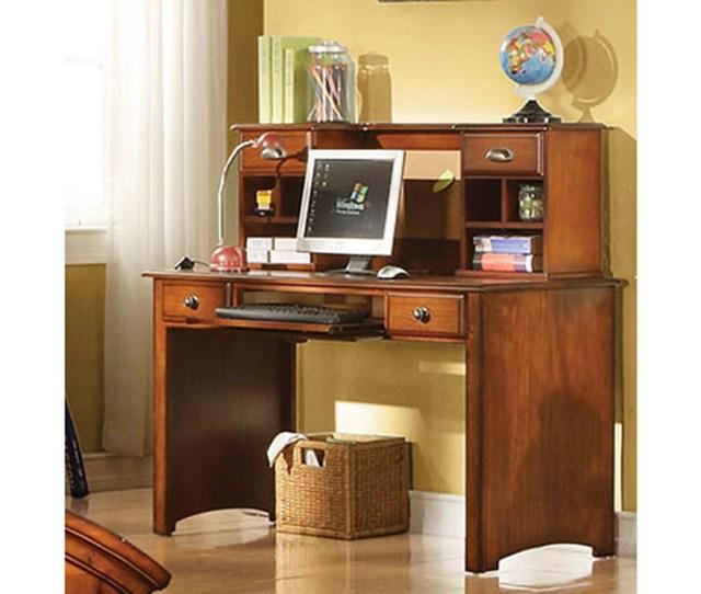 Affordable Furniture Carpet Chicago Il Brandon Antique Oak Computer Desk W Hutch