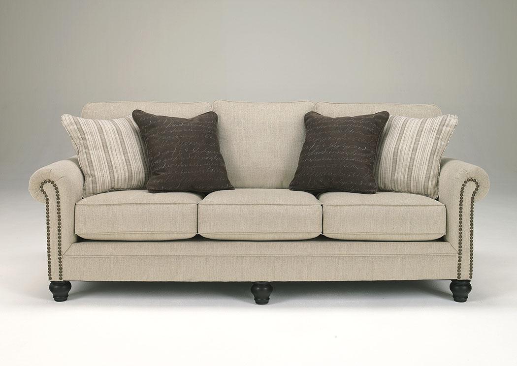 Rossie Furniture Hammond La Milari Linen Sofa