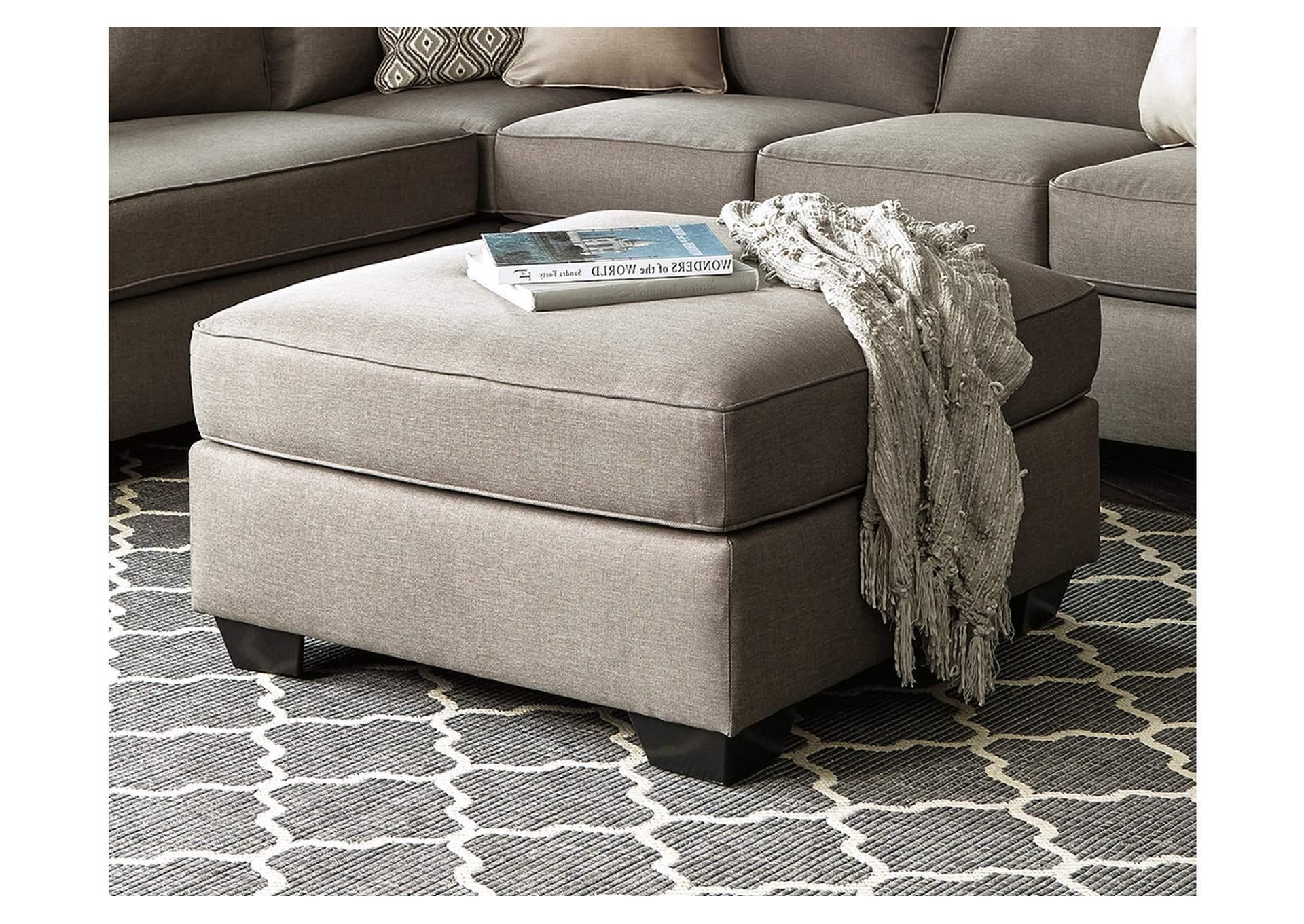Morrison S Furniture Calicho Cashmere Oversized Accent Ottoman