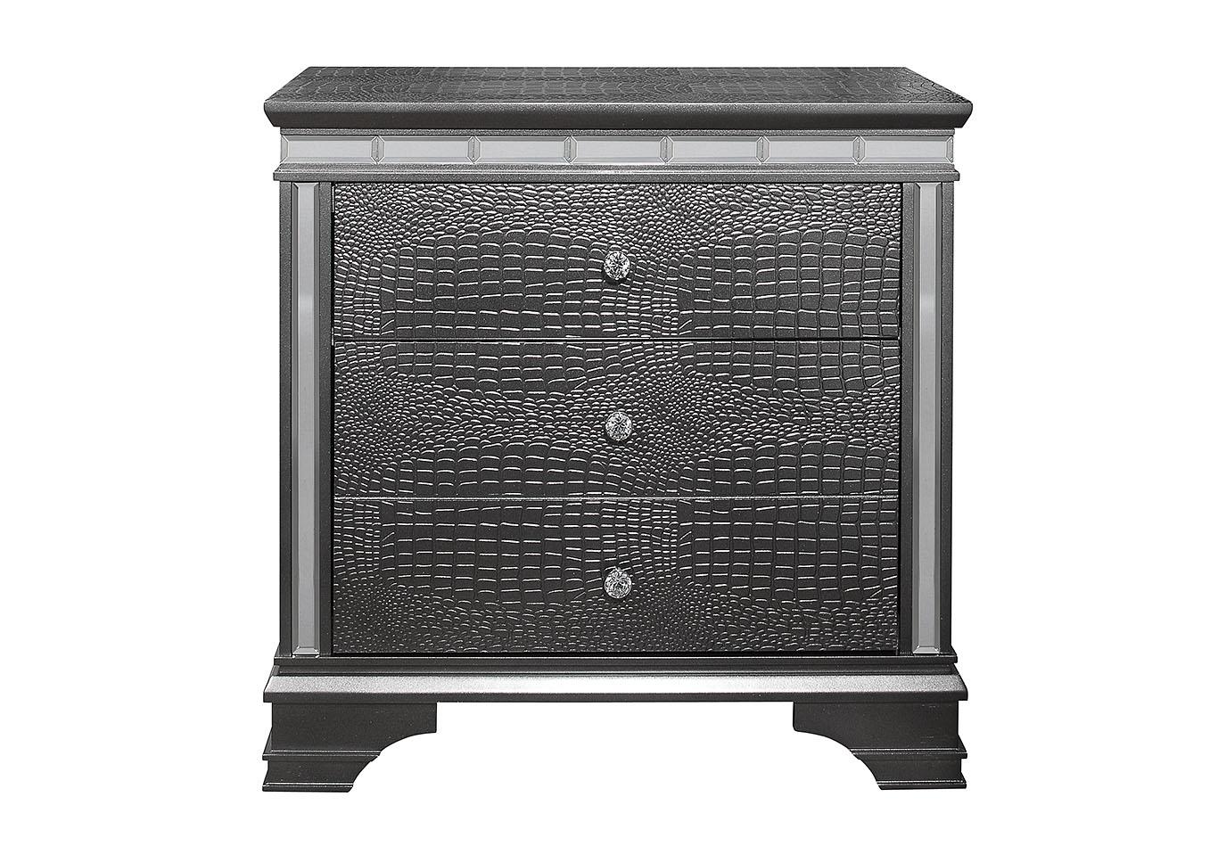 Comfort Furniture Mattress Center Penelope Metallic Grey