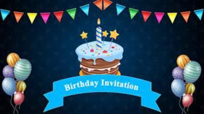 whatsapp birthday video invitations