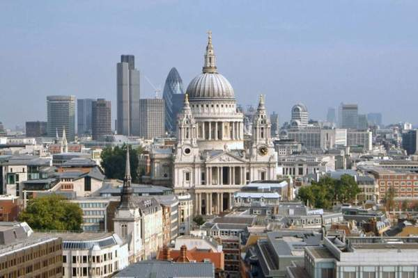 Sir Christopher Wren's St Paul's Cathedral, London