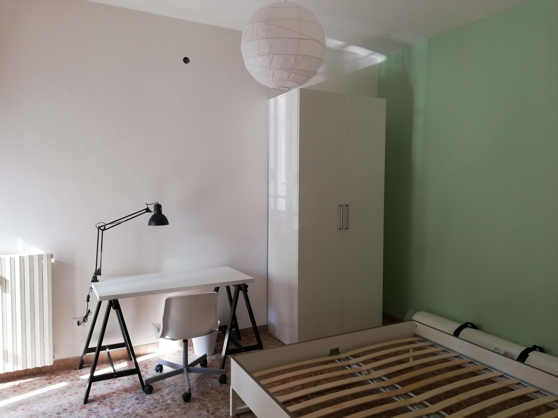 Room With King Size Bed Available For Single Student With Balcony All Renovated And New Near Uni Campus Room For Rent Forli