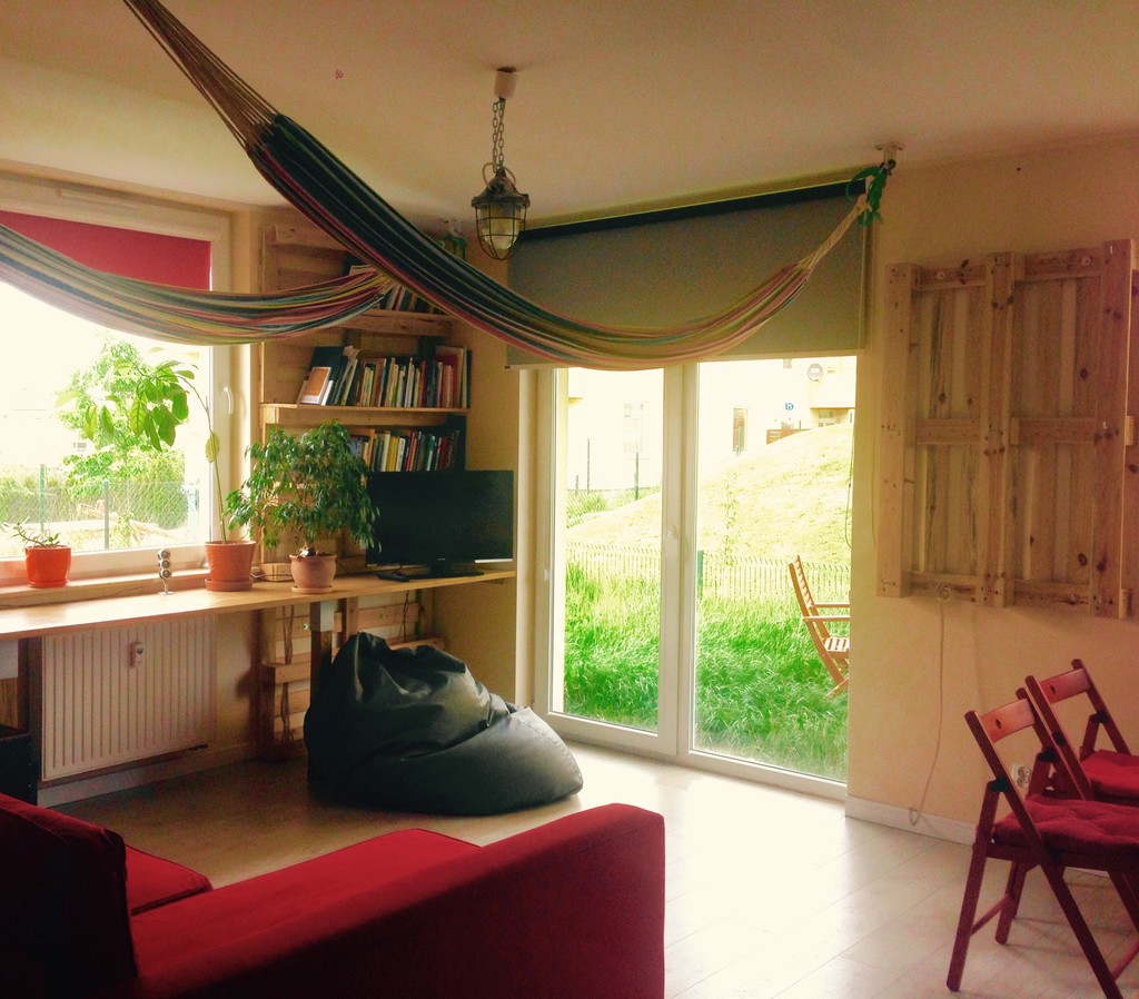 Apartment With Garden And Hammocks 3 Rooms