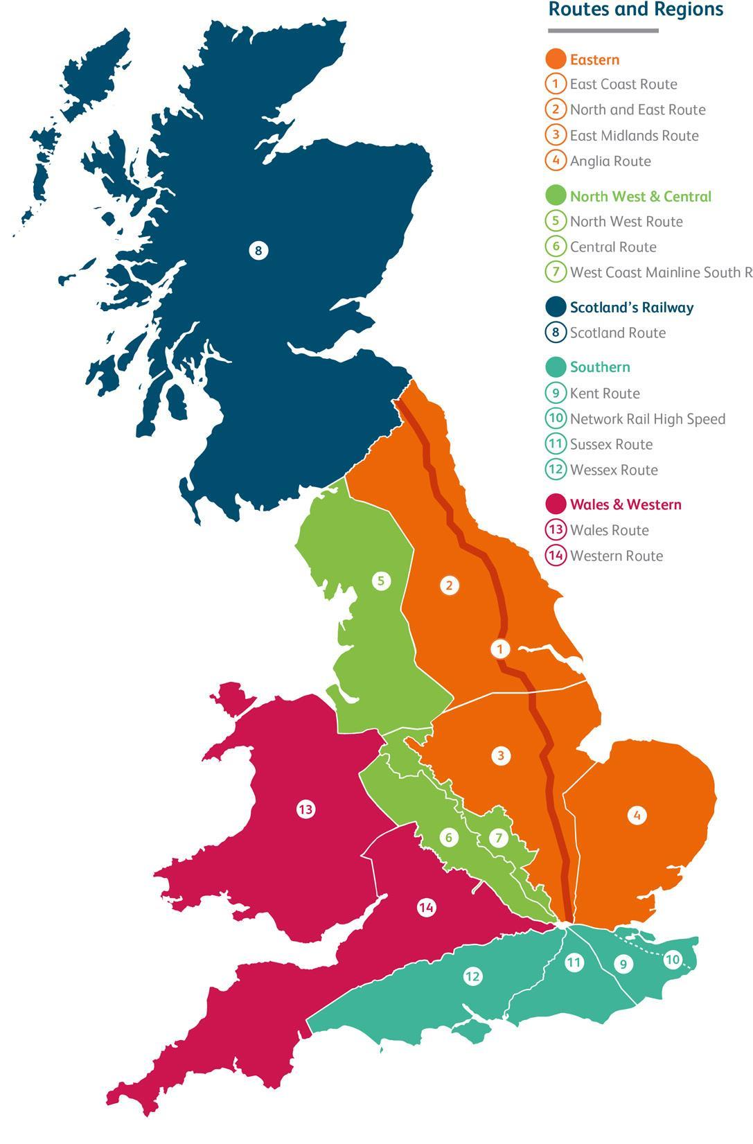 Network Rail Regions Take Over Project Delivery