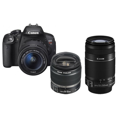 Canon EOS Rebel T5i w 18 55 55 250 IS STM Combo DSLR Cameras     CanonEOS Rebel T5i w 18 55 55 250 IS STM Combo