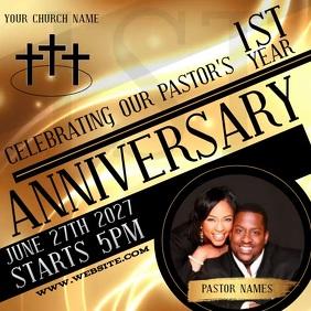 pastor birthday customizable design