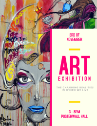 Customizable Design Templates For Art Exhibition PosterMyWall