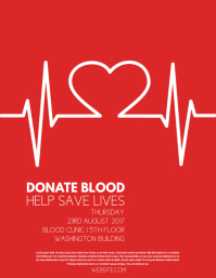 blood donation flyer free download