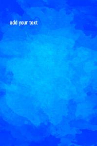 blue background customizable design
