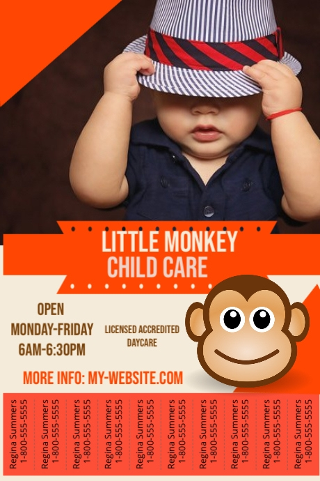Child Care Flyer Template PosterMyWall