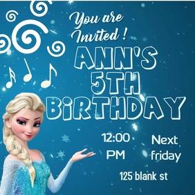 barbie birthday invitation card free