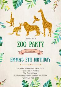 farm birthday invitation customizable