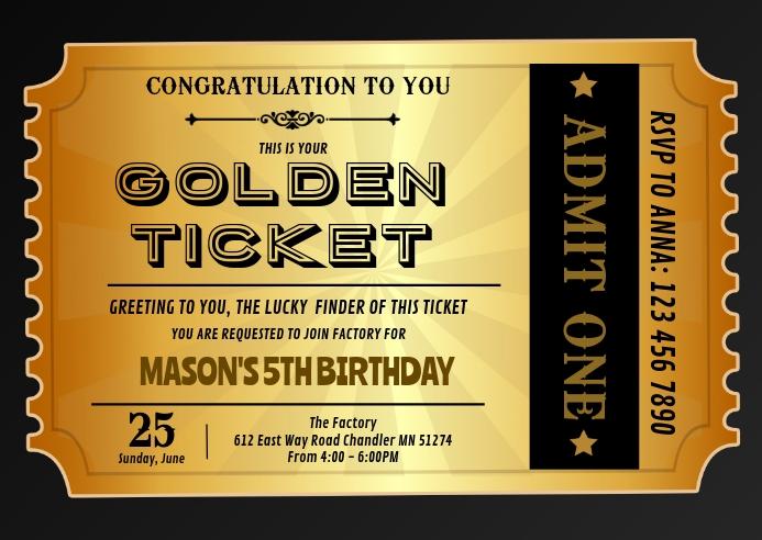 golden ticket geburtstag