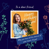 Customize 10 290 Happy Birthday Poster Templates Postermywall