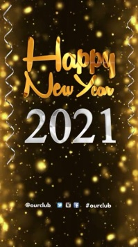 New Year Poster Templates   PosterMyWall Happy New Year Greeting