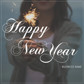 New Year Instagram Post Templates   PosterMyWall Happy New Year instagram Post Template