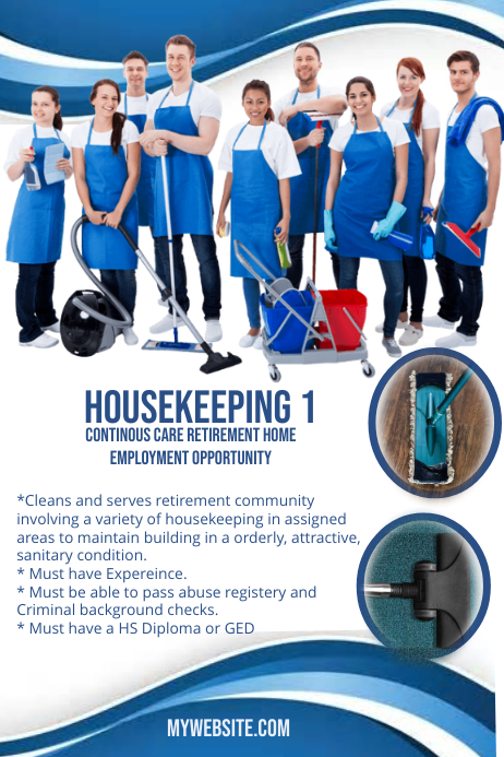 Service Cleaning Flyers