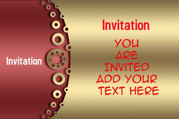 modele carte d invitation pour fete