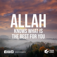 These quotes do not only emphasize. 6 660 Islamic Quotes Customizable Design Templates Postermywall