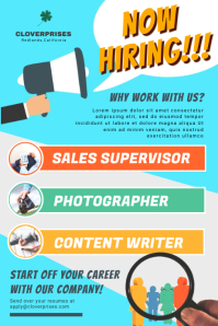 create hiring job posters for free