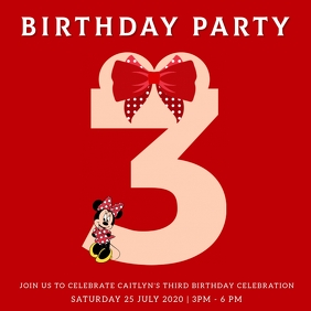11 020 mickey mouse birthday invite