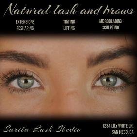 eyelash extensions customizable design