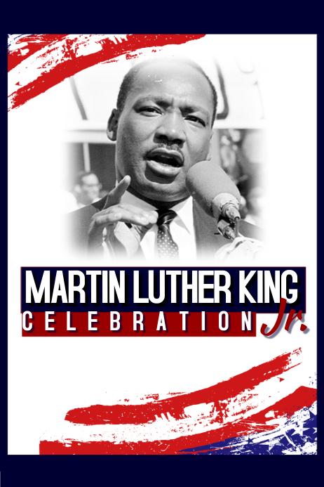 Biography Mlk Jr Poster