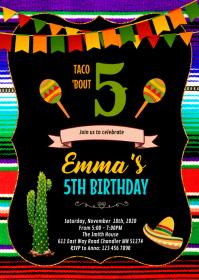 570 mexican fiesta customizable design