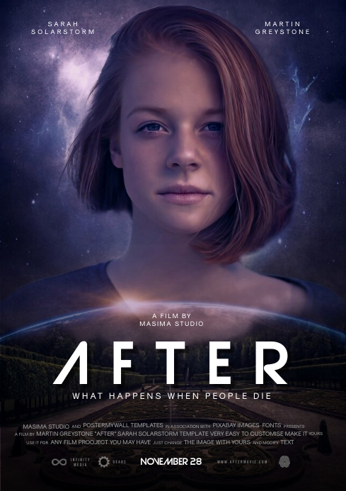 movie poster template vorlage