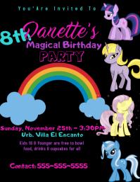 100 my little pony customizable design