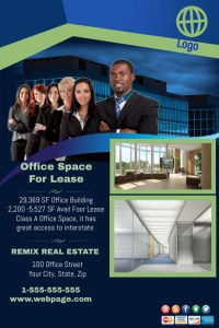 for lease flyer   Seatle davidjoel co office space for lease template postermywall