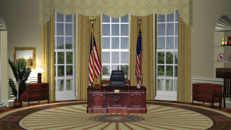 Oval Office - Zoom Background Templates | PosterMyWall