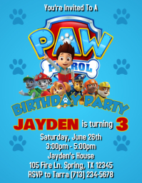 paw patrol postermywall