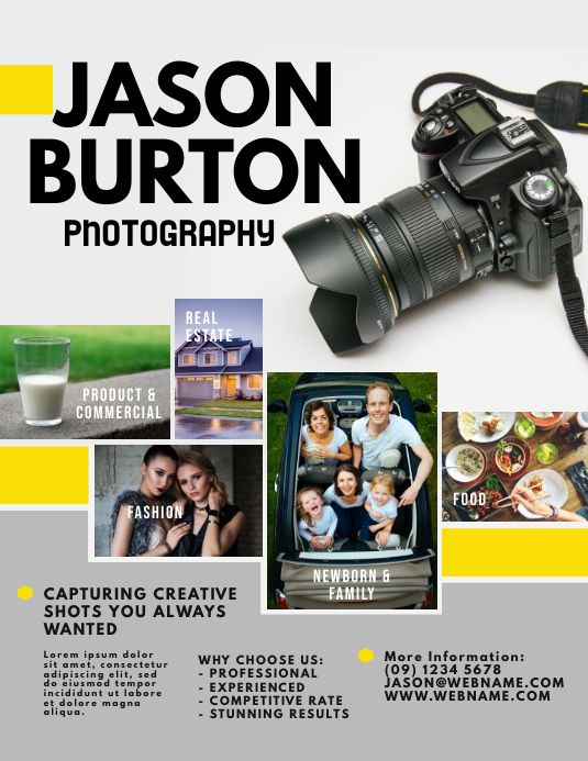 Customize 1,150+ Photography Poster Templates | PosterMyWall