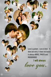 1800 Customizable Design Templates For Love PosterMyWall
