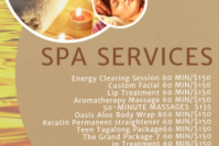 Customizable Design Templates for Price List   PosterMyWall Spa salon Price List Template