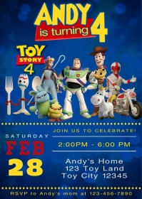 toy story customizable design templates