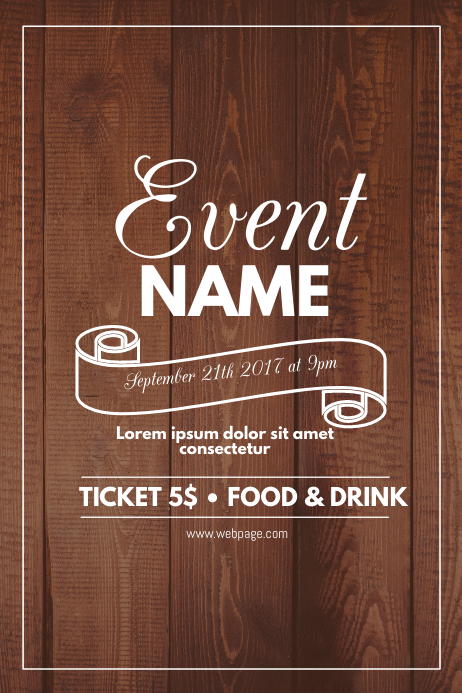Event Flyer Templates   Free Downloads   PosterMyWall view template