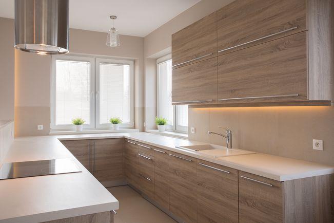 U Shaped Modular Kitchen Images