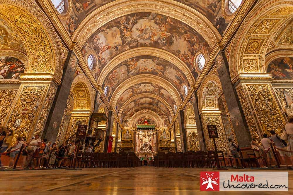 Last Days Of St Raphaels Cathedral >> St John S Co Cathedral Visiting The Crown Jewel Of Valletta