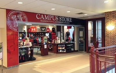 A campus store on campus