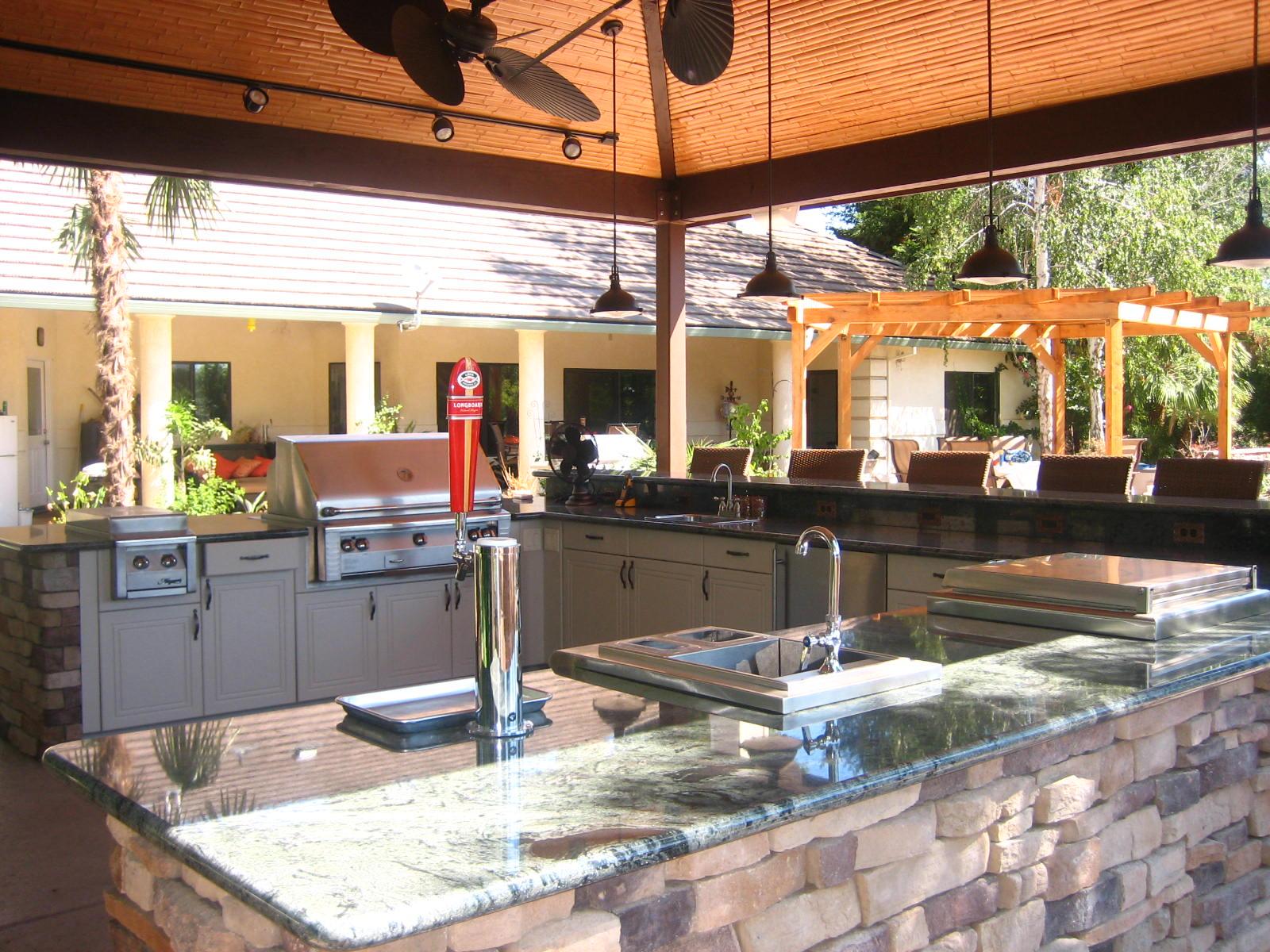 3 Design Ideas for an Outdoor Kitchen - Lanai Outdoor Kitchens on Backyard Kitchen Design id=82754
