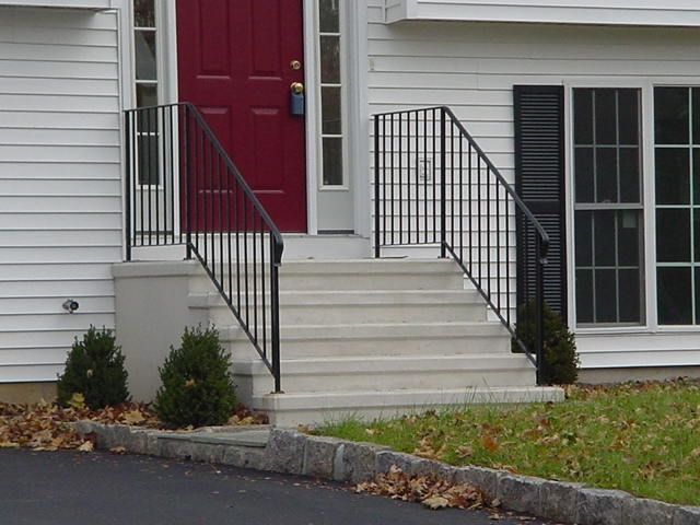 Precast Concrete Steps Concrete Products In Danbury Ct Mono | Railing For Concrete Steps | Stairwell | Retaining Wall | Concrete Slab Detail | Commercial | Safety